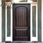 old world two panel solid door