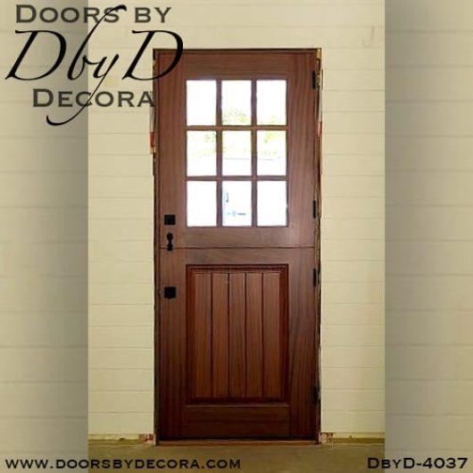 dbyd4037b - craftsman dutch door - Doors by Decora