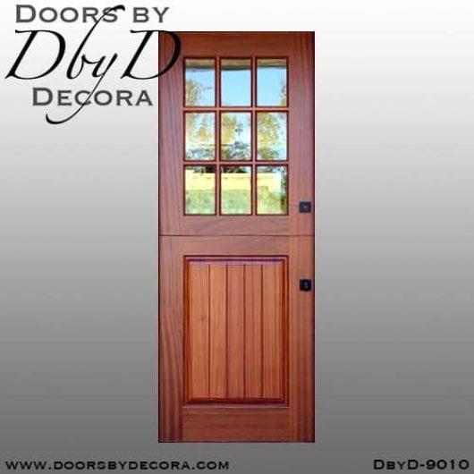 dbyd9010d - specialty dutch door - Doors by Decora