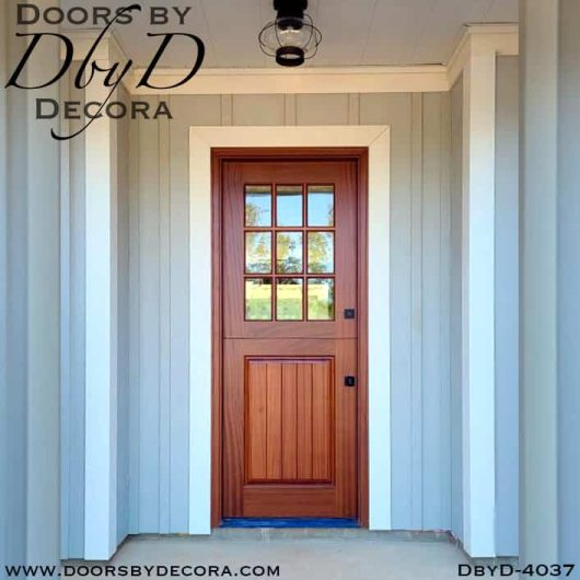 divided lite dutch door