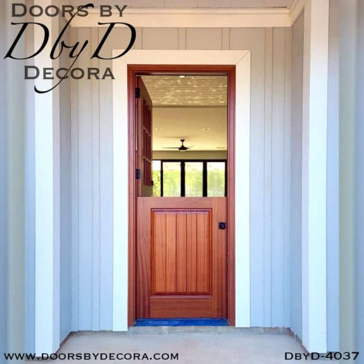 divided lite4037a - divided lite dutch door - Doors by Decora