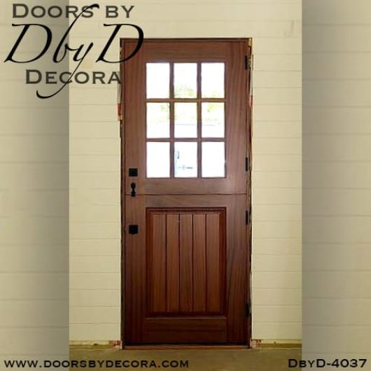 divided lite4037b - divided lite dutch door - Doors by Decora