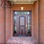 divided lite solid door unit