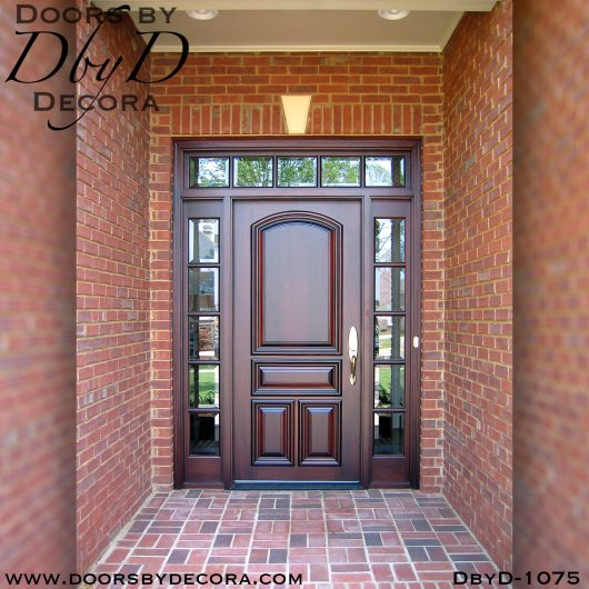 divided lite solid door unit