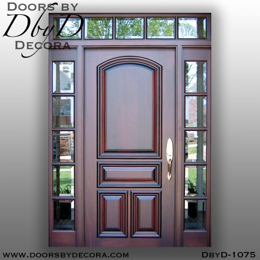 divided lite1075b - divided lite solid door unit - Doors by Decora