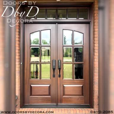 divided lite 6-lite tdl doors