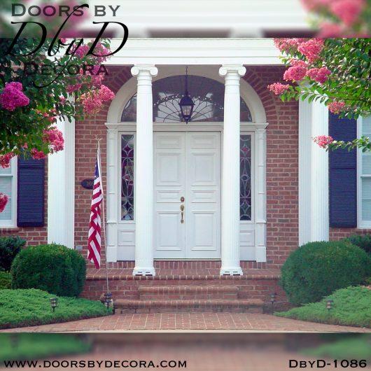 solid door1086a - solid door colonial double doors - Doors by Decora