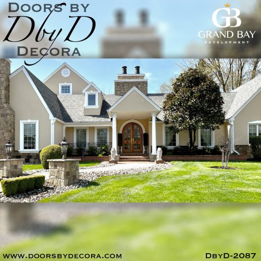 dbyd2087a - french country lion doors - Doors by Decora