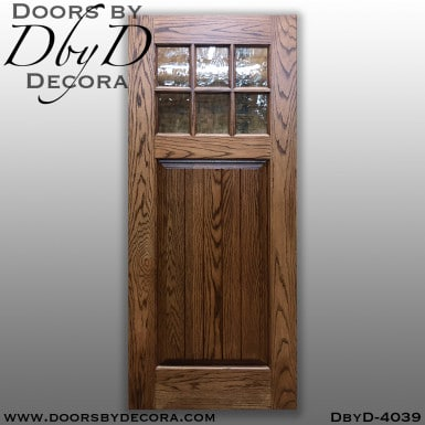 craftsman 6-lite tdl door