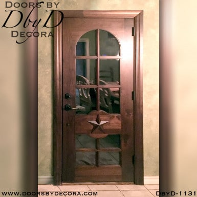 divided lite custom back door