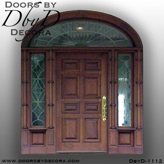 solid door1112b - solid door colonial style - Doors by Decora