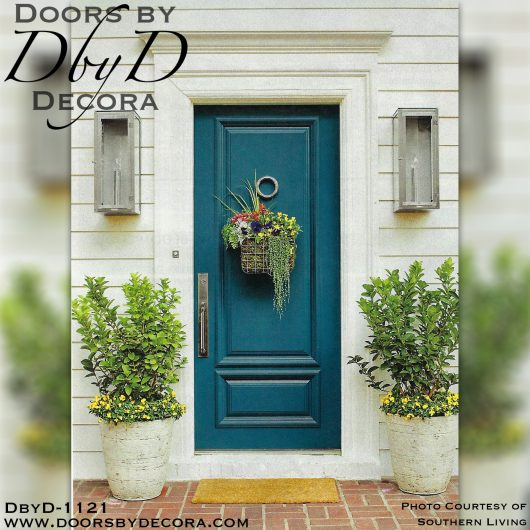 solid door Southern Living door