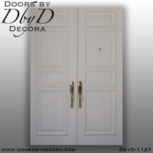 solid door white wood doors