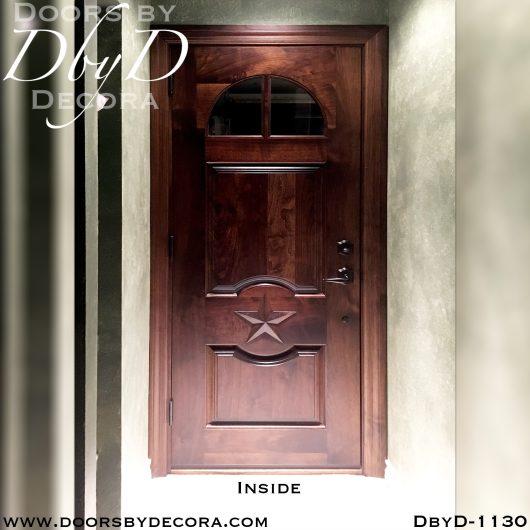 solid door custom garage door