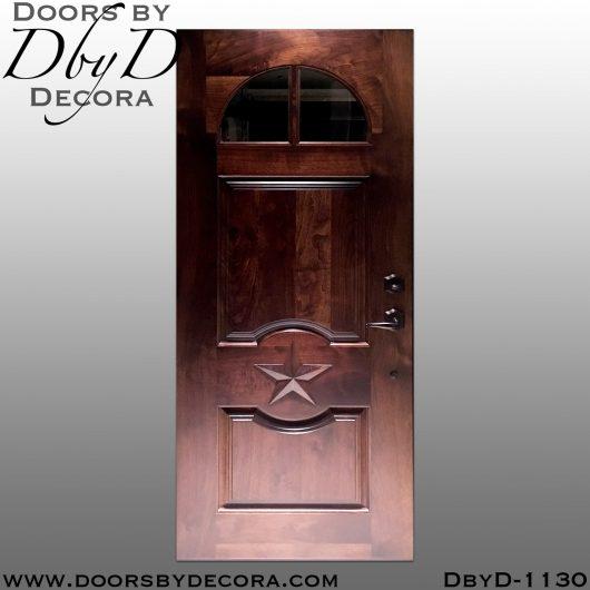 solid door1130e - solid door custom garage door - Doors by Decora
