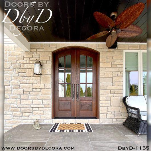 dbyd1155a - estate 6-lite tdl doors - Doors by Decora