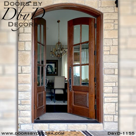 dbyd1155b - estate 6-lite tdl doors - Doors by Decora