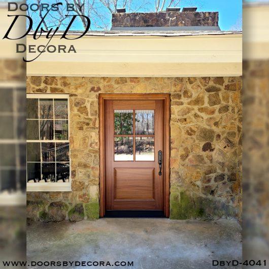 dbyd4041a - craftsman 4-lite tdl door - Doors by Decora