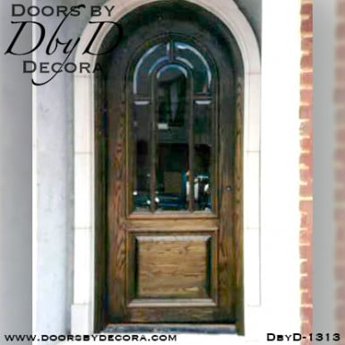 divided lite radius door