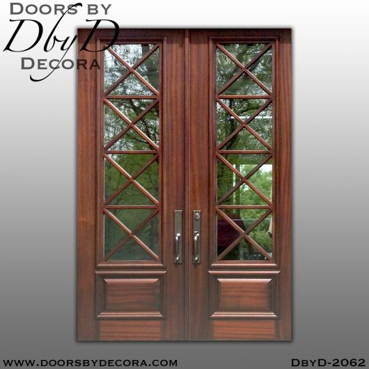 divided lite2062a - divided lite french doors - Doors by Decora