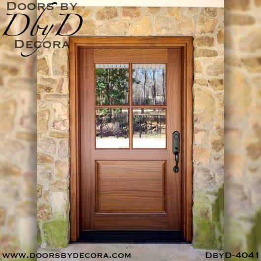divided lite 4-lite tdl door