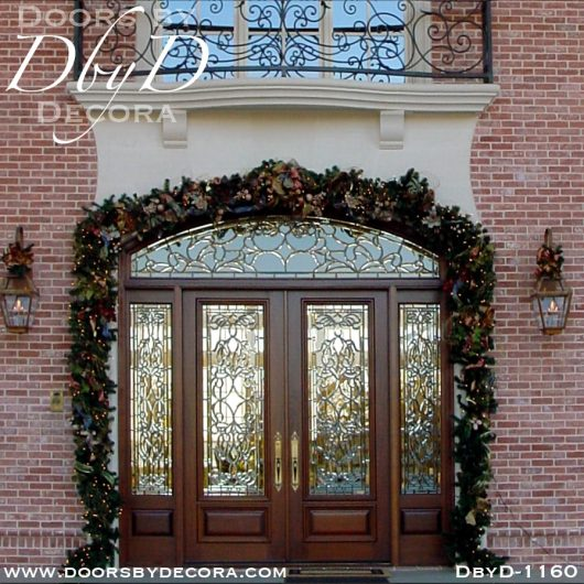 leaded glass grand entry