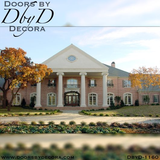 leaded glass1160a - leaded glass grand entry - Doors by Decora