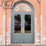 leaded glass custom doors and glass