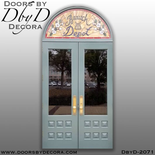 leaded glass custom doors and glass