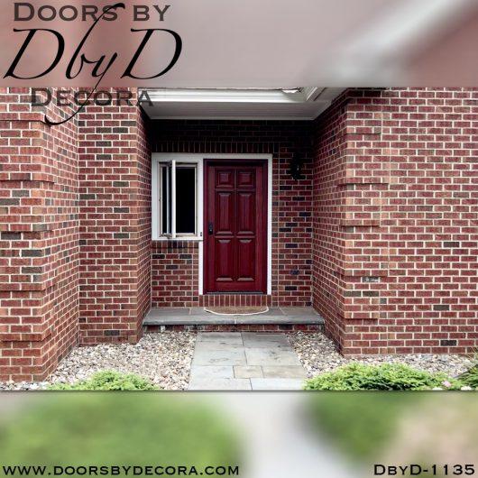 solid door1135a - solid door wood six panel door - Doors by Decora