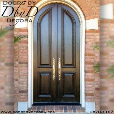 solid door wood radius doors