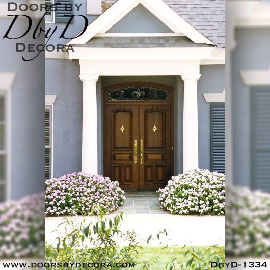 solid door1334a - solid door wooden double doors - Doors by Decora