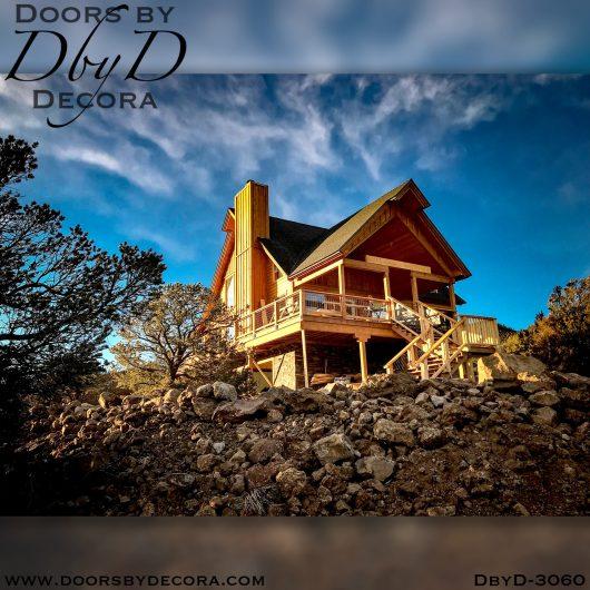 solid door3060c - solid door two-tone wood door - Doors by Decora