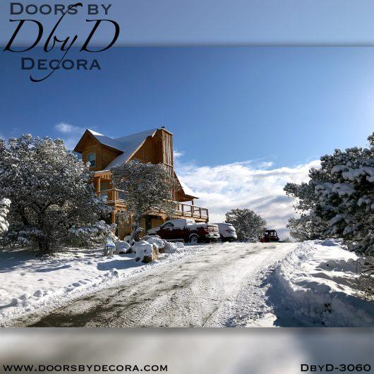 solid door3060d - solid door two-tone wood door - Doors by Decora