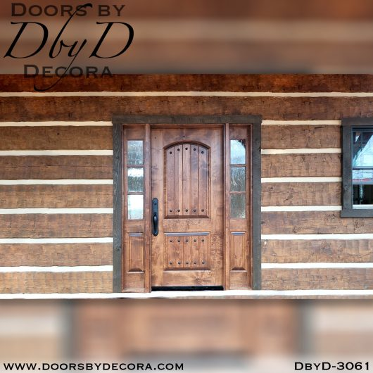 divided lite3061a - divided lite door and rustic sidelites - Doors by Decora