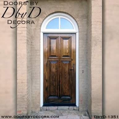 solid door oak door