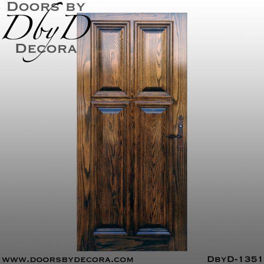 solid door1351a - solid door oak door - Doors by Decora