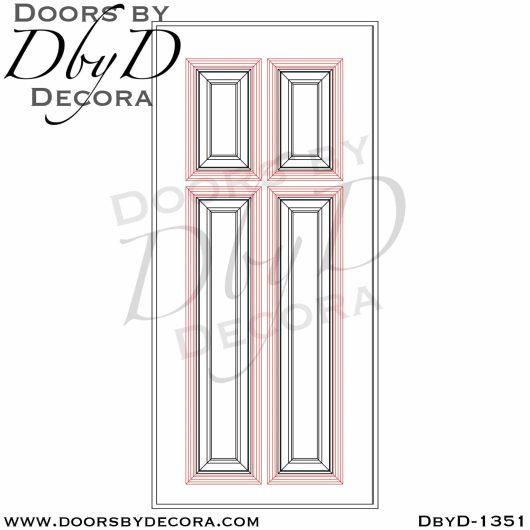 solid door oak door