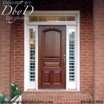 solid door mahogany door