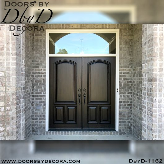 dbyd1162a - estate double solid doors - Doors by Decora