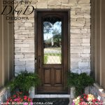 old world single door