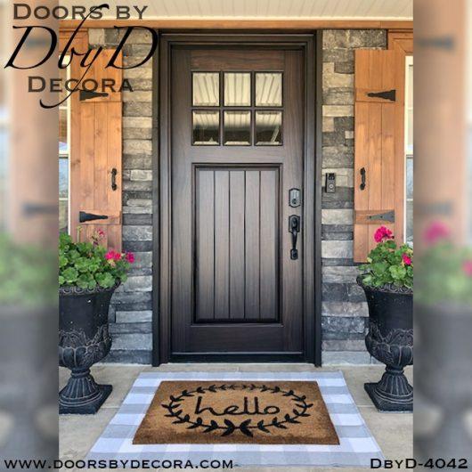 craftsman 6 lite tdl door