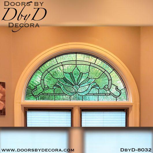 stained glass radius window