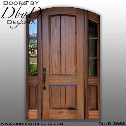 divided lite3063a - divided lite arched door - Doors by Decora