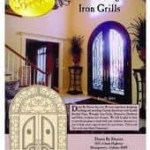Brochure Cover for Iron Grill Door Ideas