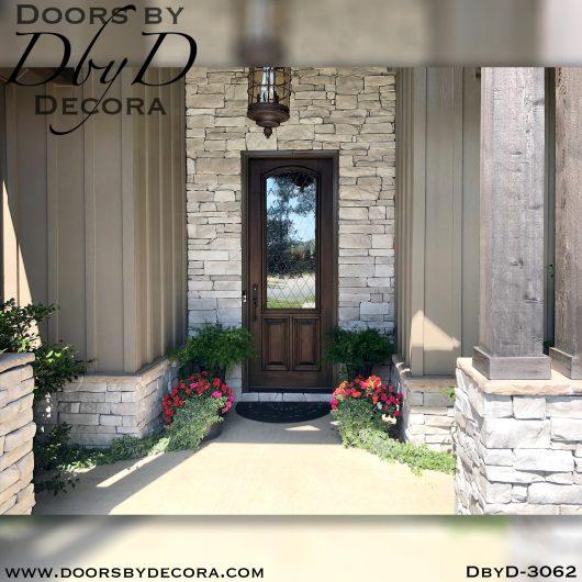 rustic3062a - rustic single door - Doors by Decora