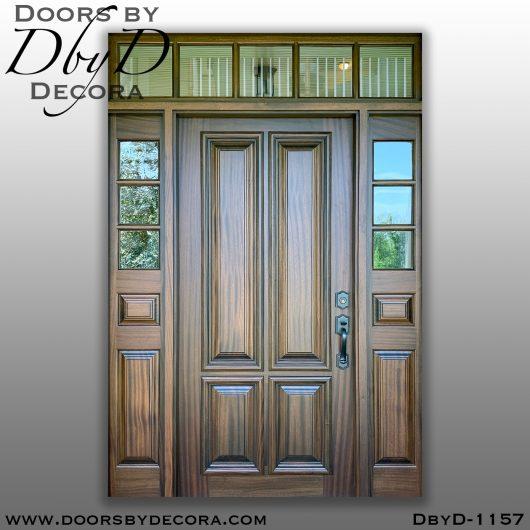 solid door custom front door