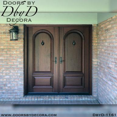solid door solid double door unit