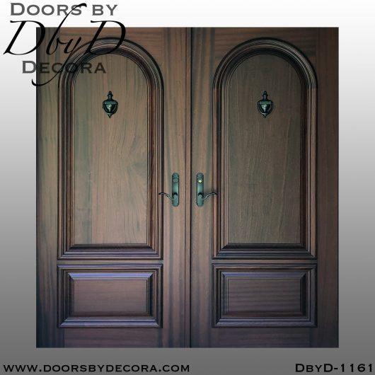 solid door1161a 1 - solid door solid double door unit - Doors by Decora