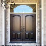 solid door double doors